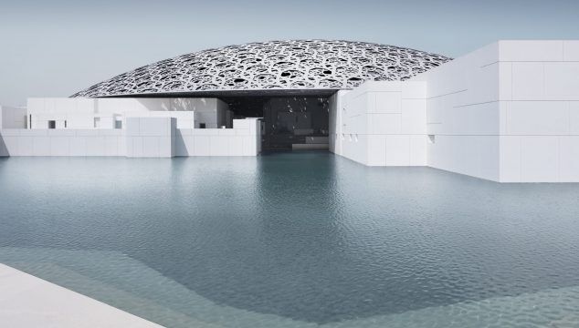Louvre Abu Dhabi, esterno © Louvre Abu Dhabi, Photography: Mohamed Somji