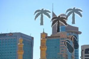Ad Abu Dhabi in mezzo a una strada… con tre nomi