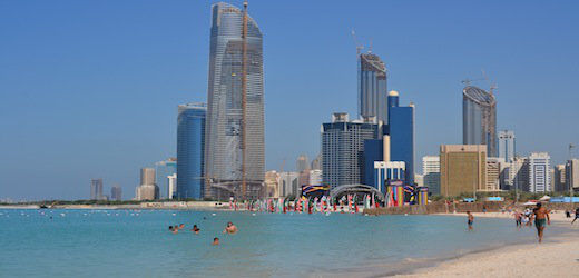 Spiagge di Abu Dhabi - Corniche