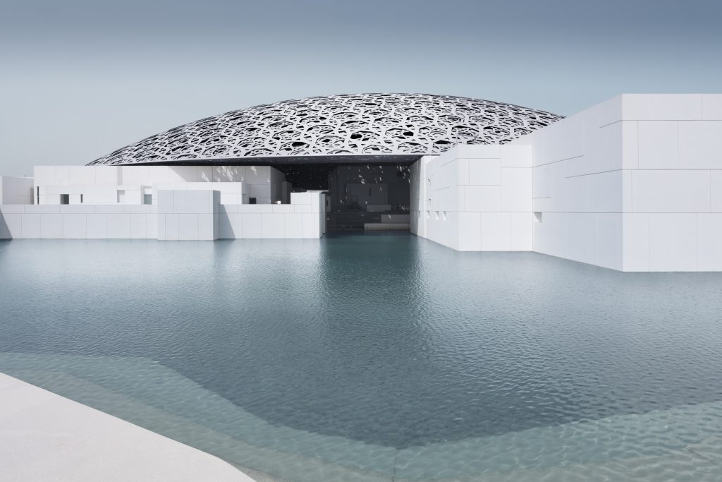 Louvre Abu Dhabi, esterno © Louvre Abu Dhabi, Photography: Mohamed Somji