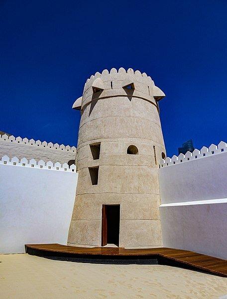 "<a href=""https://commons.wikimedia.org/wiki/File:Watch_Tower_at_Qasr_Al_Hosn.jpg"" title=""via Wikimedia Commons"">Aeroid</a> / <a href=""https://creativecommons.org/licenses/by-sa/4.0"">CC BY-SA</a>"