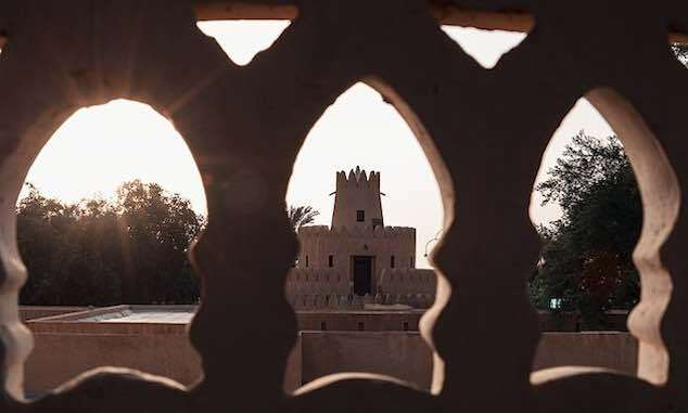"""<a href=""""https://commons.wikimedia.org/wiki/File:Al_Ain_Palace_Museum_Architecture.jpg"""" title=""""via Wikimedia Commons"""">Jeff2rado</a> / <a href=""""https://creativecommons.org/licenses/by-sa/4.0"""">CC BY-SA</a>"""