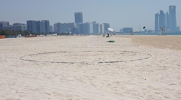 riapertura spiagge abu dhabi