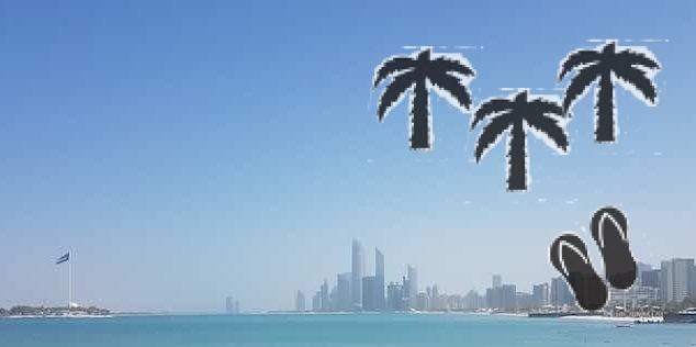 Abu Dhabi panorama ottobre